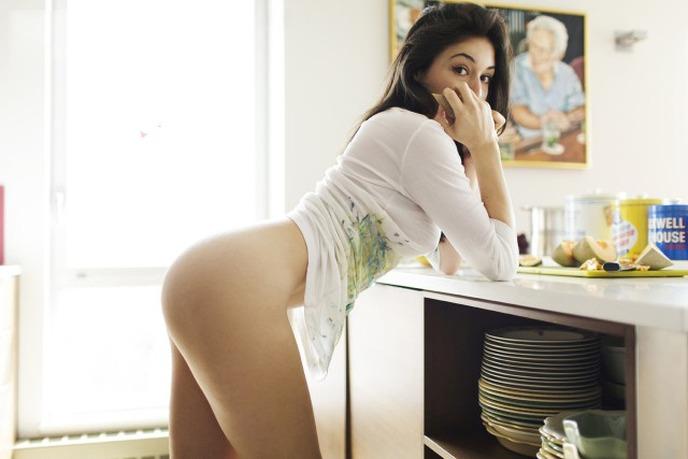 mulheres gostosas na cozinha