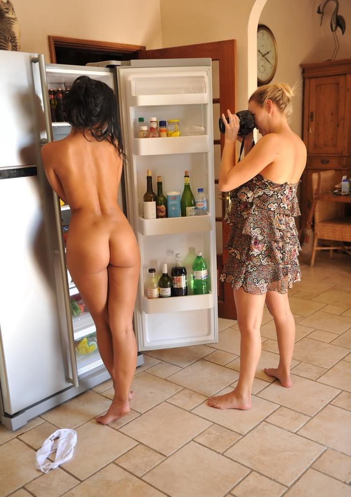 sexo meninas sexo cozinha