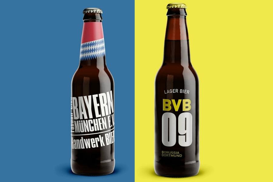 cervejas clubes de futebol