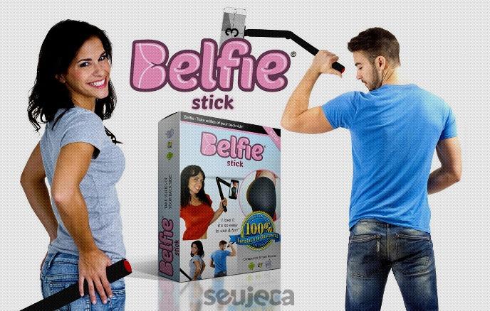 belfie stick pau de selfie para bunda