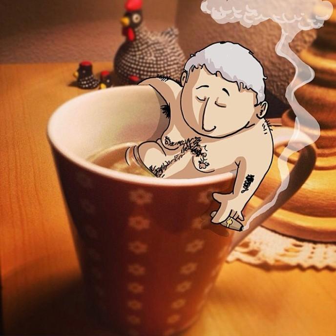 ilustrações inteligentes e engraçadas de lucas levitan