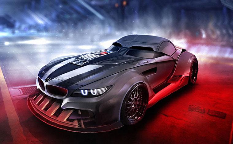 carros inspirados em star wars