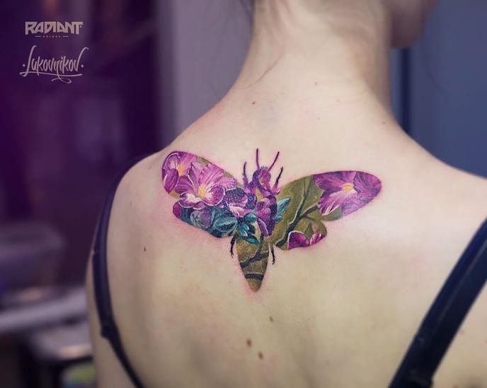 tatuagens impressionantes de Andrey Lukovnikov - seu jeca