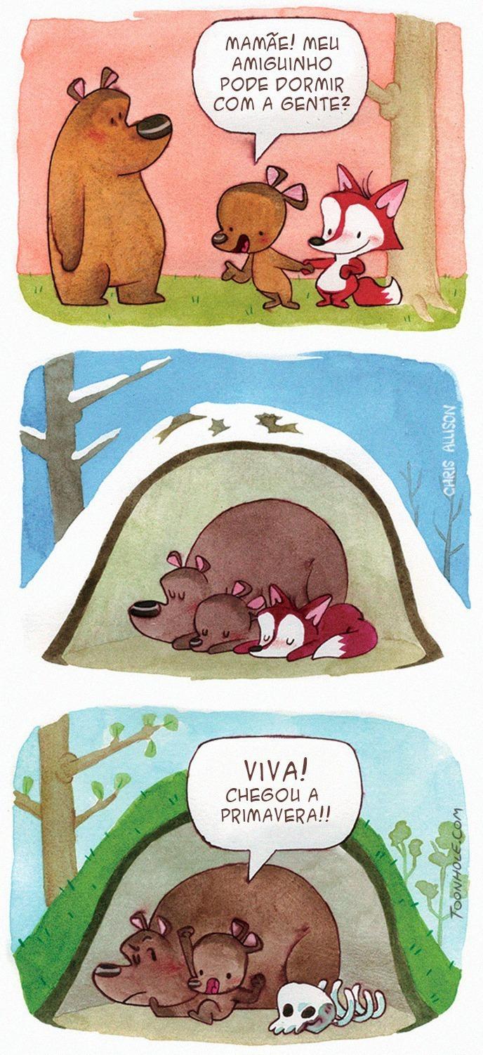 a raposa e o urso