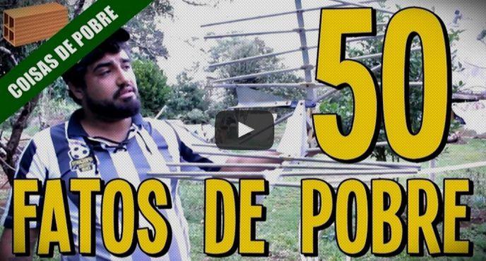 50 coisas que não podem faltar na casa do pobre