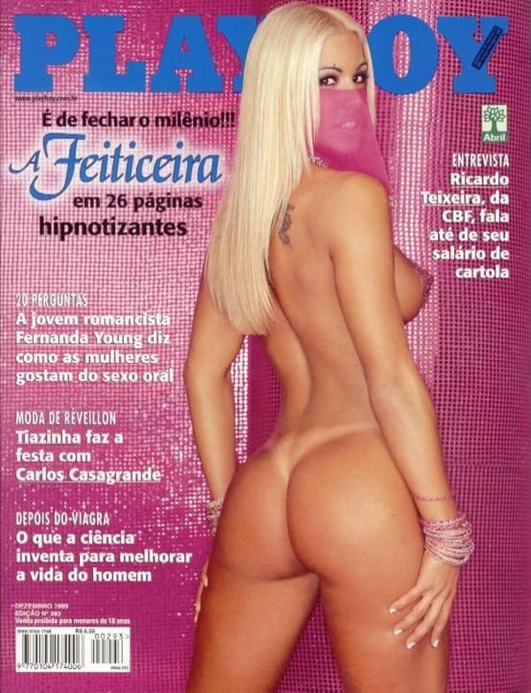 playboy dezembro 1999 feiticeira joana prado