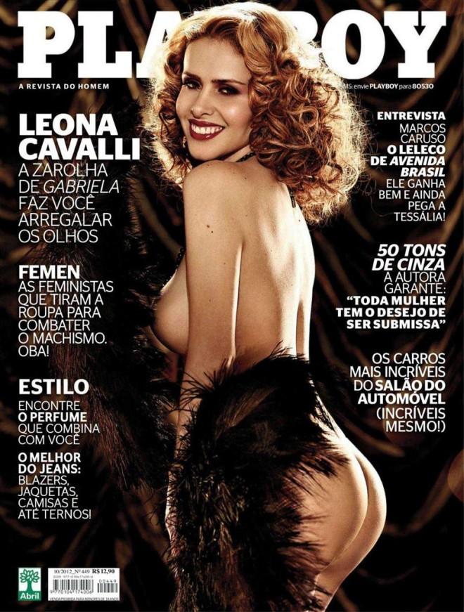playboy outubro 2012 leona cavalli