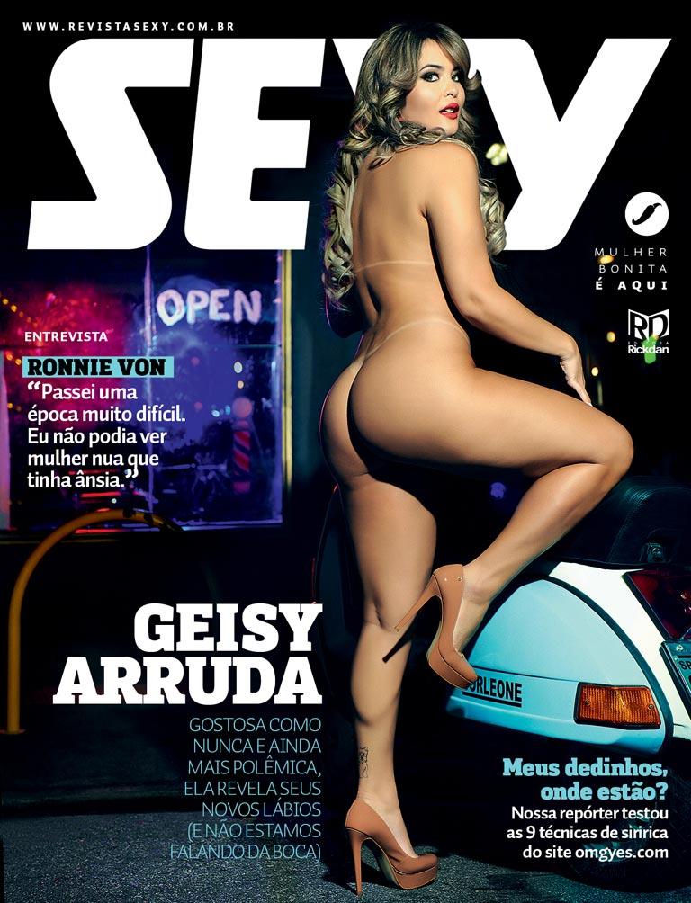 revista sexy abril 2016 geisy arruda - seu jeca