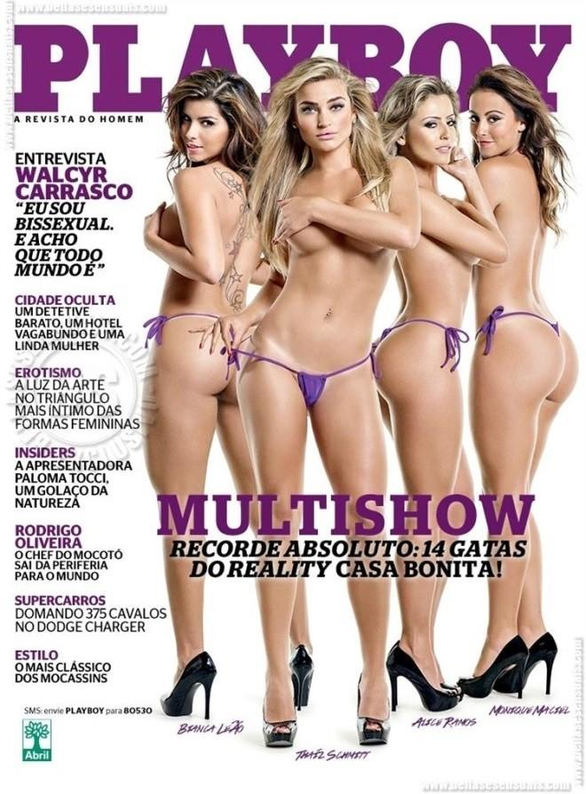 Playboy Maio 2013 :: Gatas do Casa Bonita