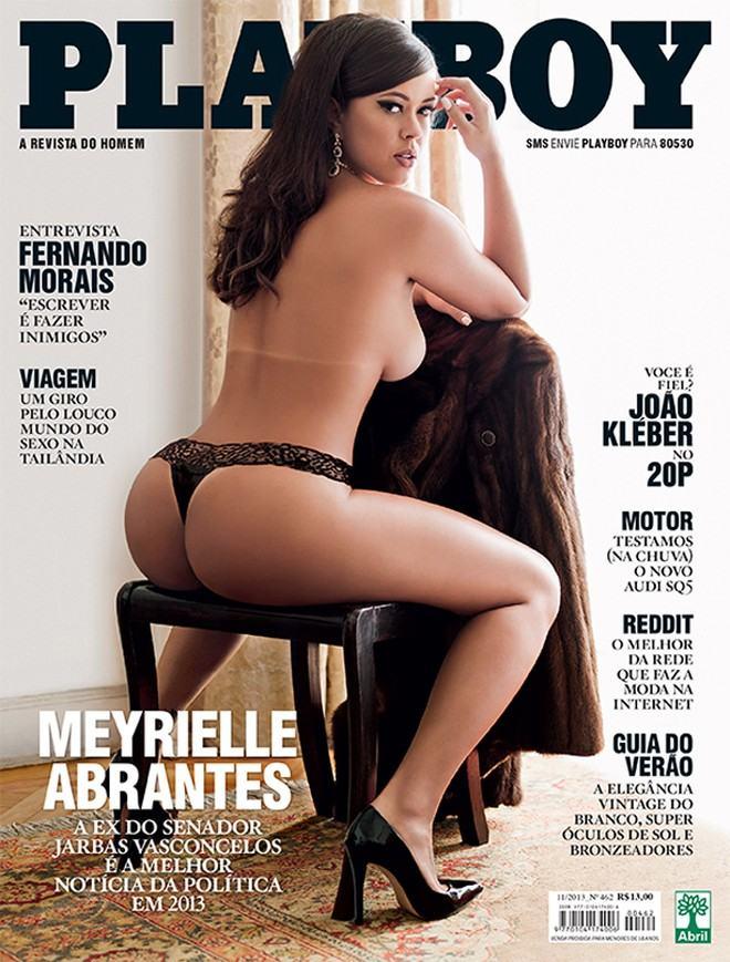 Playboy Novembro 2013 :: Meyrielle Abrantes
