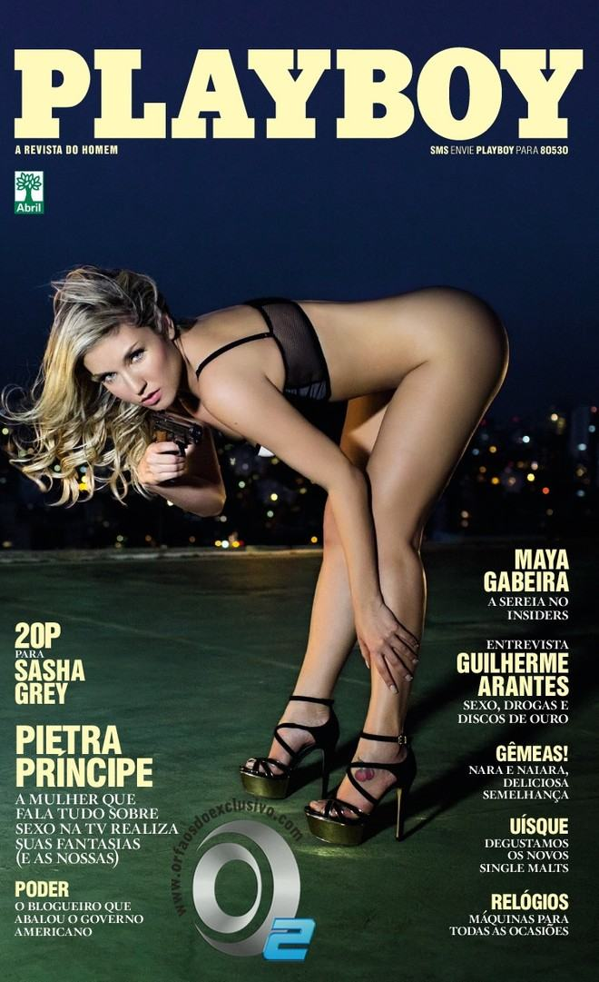 Playboy Outubro 2013 :: Pietra Principe