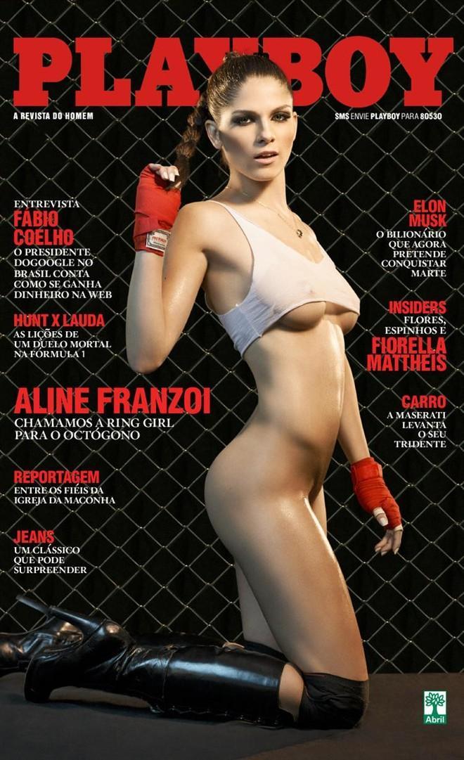 Playboy Setembro 2013 :: Aline Franzoi