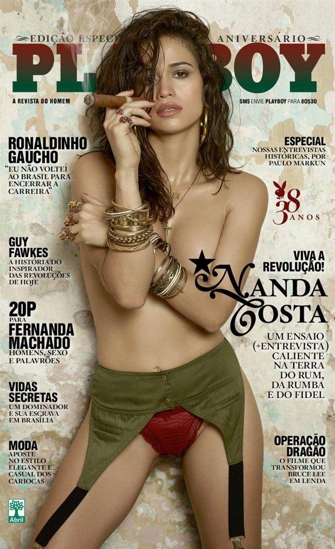 Playboy Agosto 2013 :: Nanda Costa