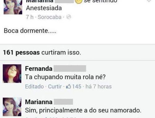 novinhas perdem a linha no facebook