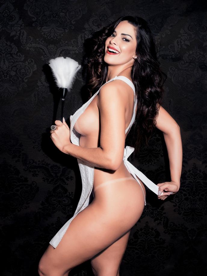 Playboy Fevereiro 2015 :: Nuelle Alves