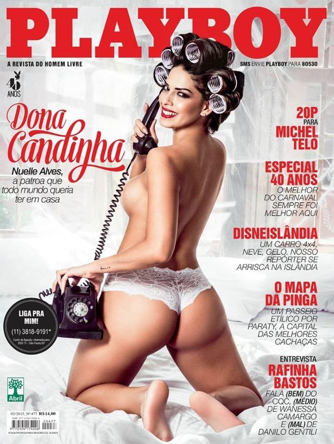 Playboy De Fevereiro Ela Sem D Vida A Patroa Que Todo