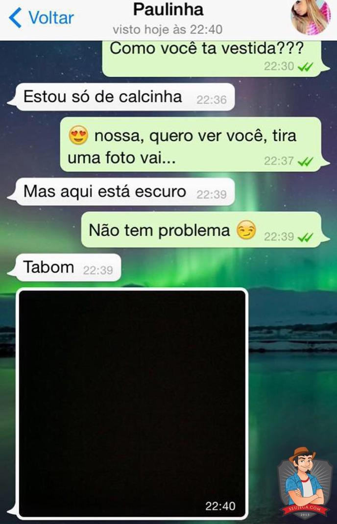 paulinha calcinha whatsapp
