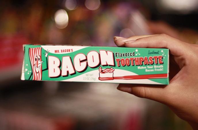 produtos bizarros feitos com bacon