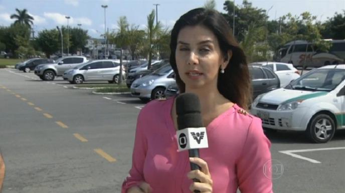 repórter da globo é assaltada ao vivo