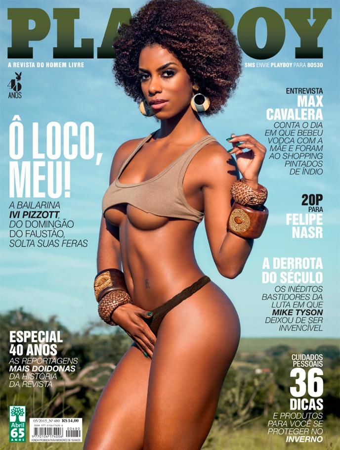 Playboy Maio 2015 :: Ivi Pizzott