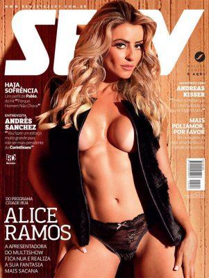 Revista Sexy Junho 2015 :: Alice Ramos