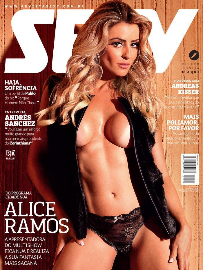 revista sexy junho 2015 alice ramos