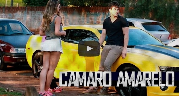 Pegadinha do Camaro Amarelo {Yellow Camaro Prank}