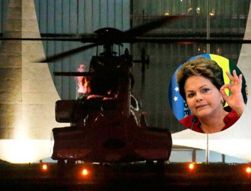 helicóptero dilma rousseff