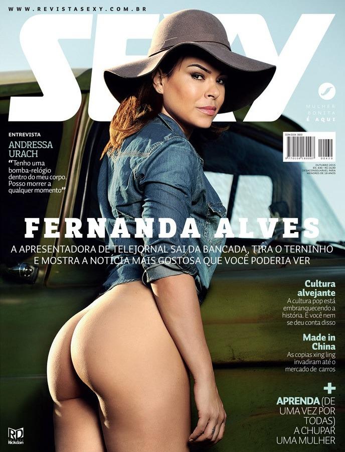 revista sexy outubro 2015 fernanda alves