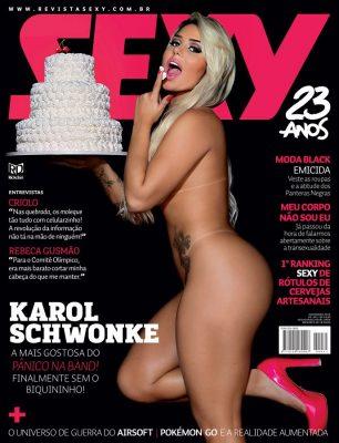 Revista Sexy Novembro 2015 :: Karol Schwonke