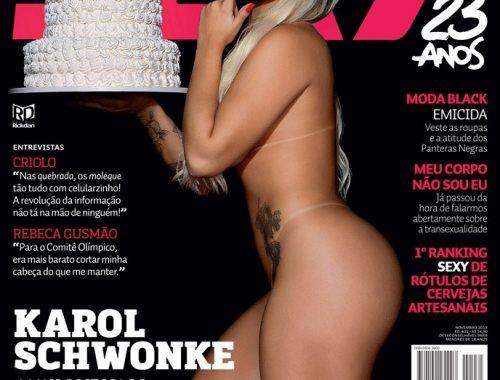 Revista Sexy Novembro 2015 karol schwonke