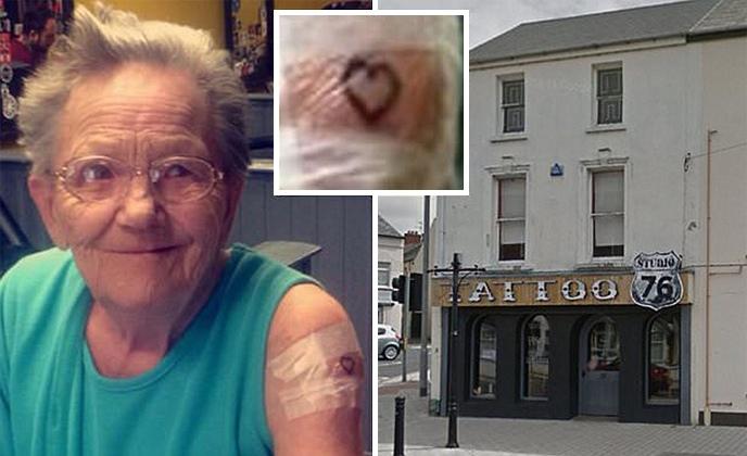 vovó vida loka foge de asilo pra fazer tatuagem