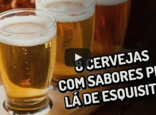 8 cervejas com sabores esquisitos
