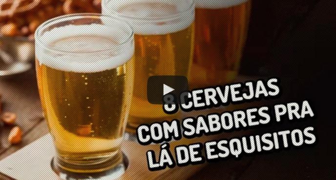 8 cervejas com sabores pra lá de esquisitos