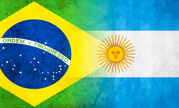 O melhor confronto entre Brasil e Argentina