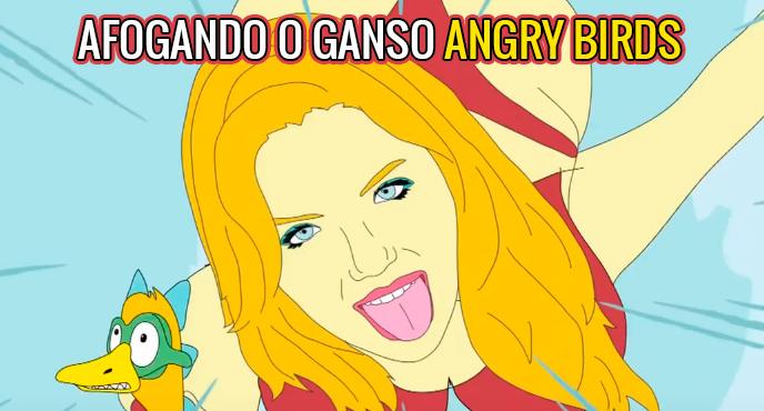 Afogando o Ganso :: Especial Angry Birds