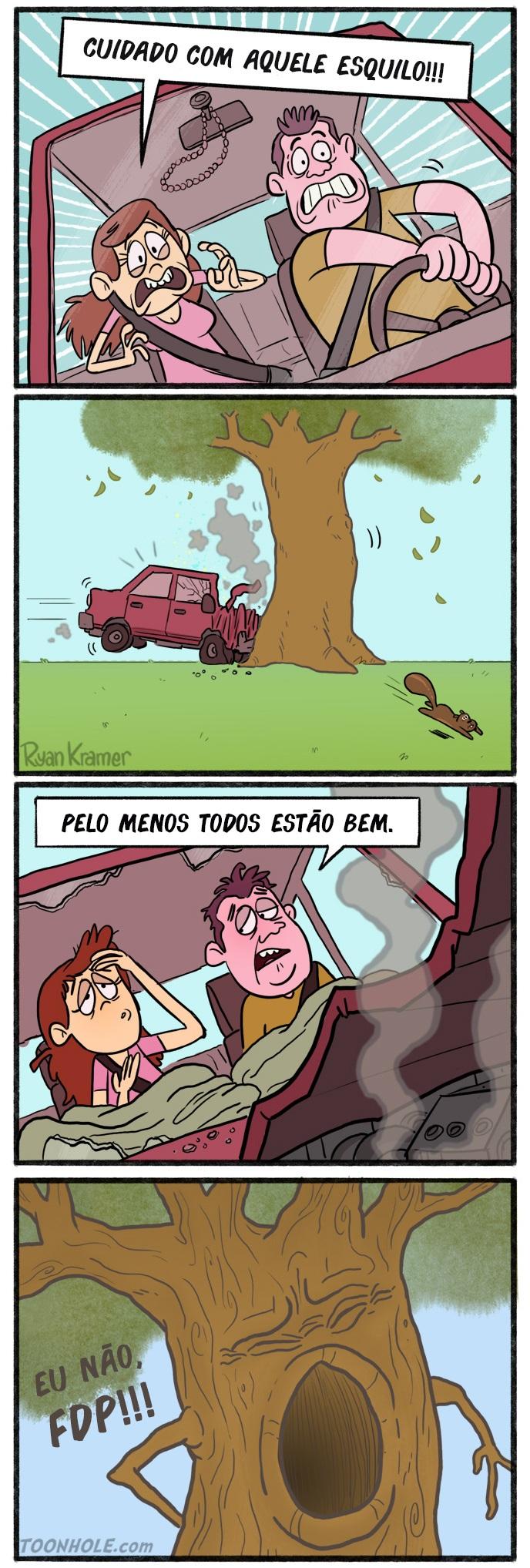 árvores também tem sentimentos - seu jeca
