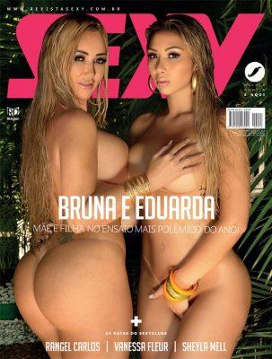 Revista Sexy Dezembro 2016 :: Bruna e Eduarda