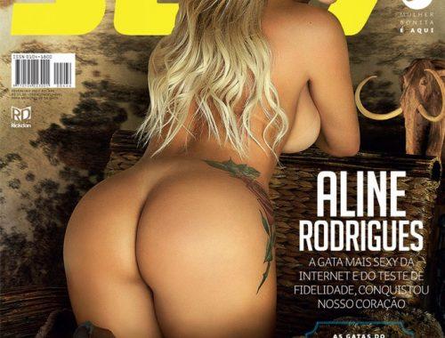 revista sexy fevereiro 2017 aline rodrigues
