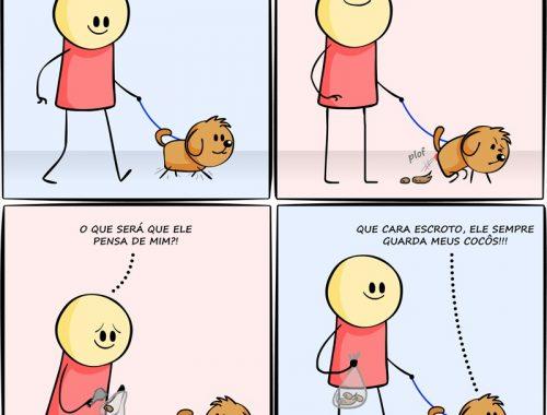o que os cachorros pensam