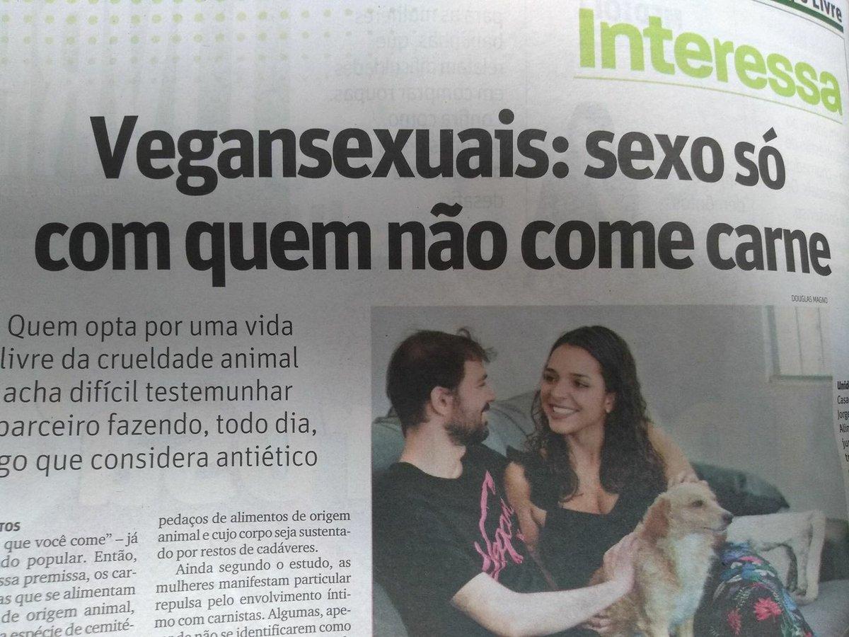 sexo só com quem não come carne