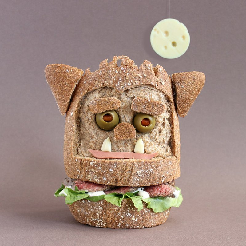 sanduíches monstros