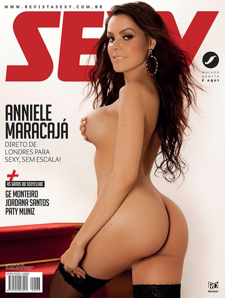 anniele maracajá pelada revista sexy