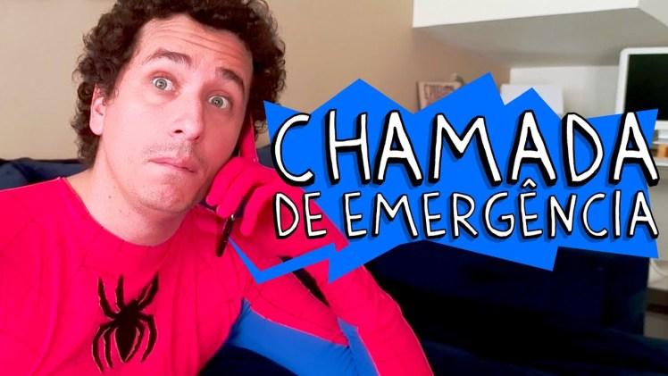 chamada de emergência super-heróis