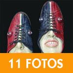 Esculturas de Sapatos