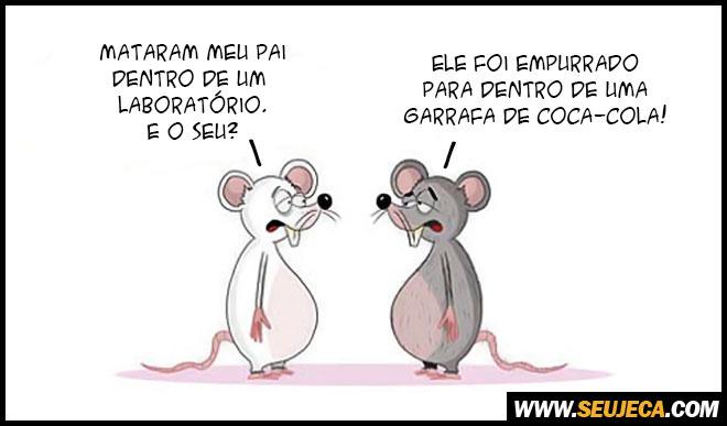 A dura vida de um rato