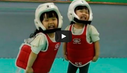 A luta mais fofa da história do Taekwondo