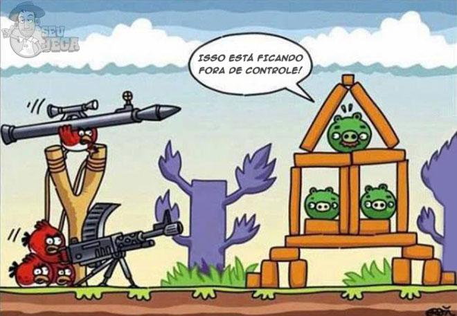 Angry Birds terrorista