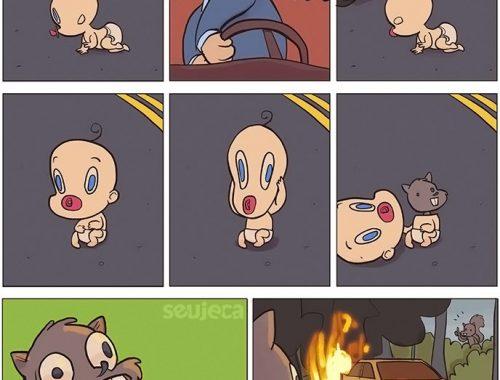 bebês causam acidentes eua