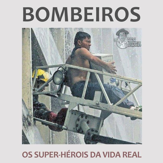 Bombeiros: os super-heróis da vida real